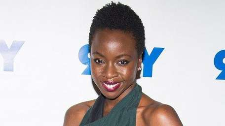 Danai Gurira attends a screening and conversation with