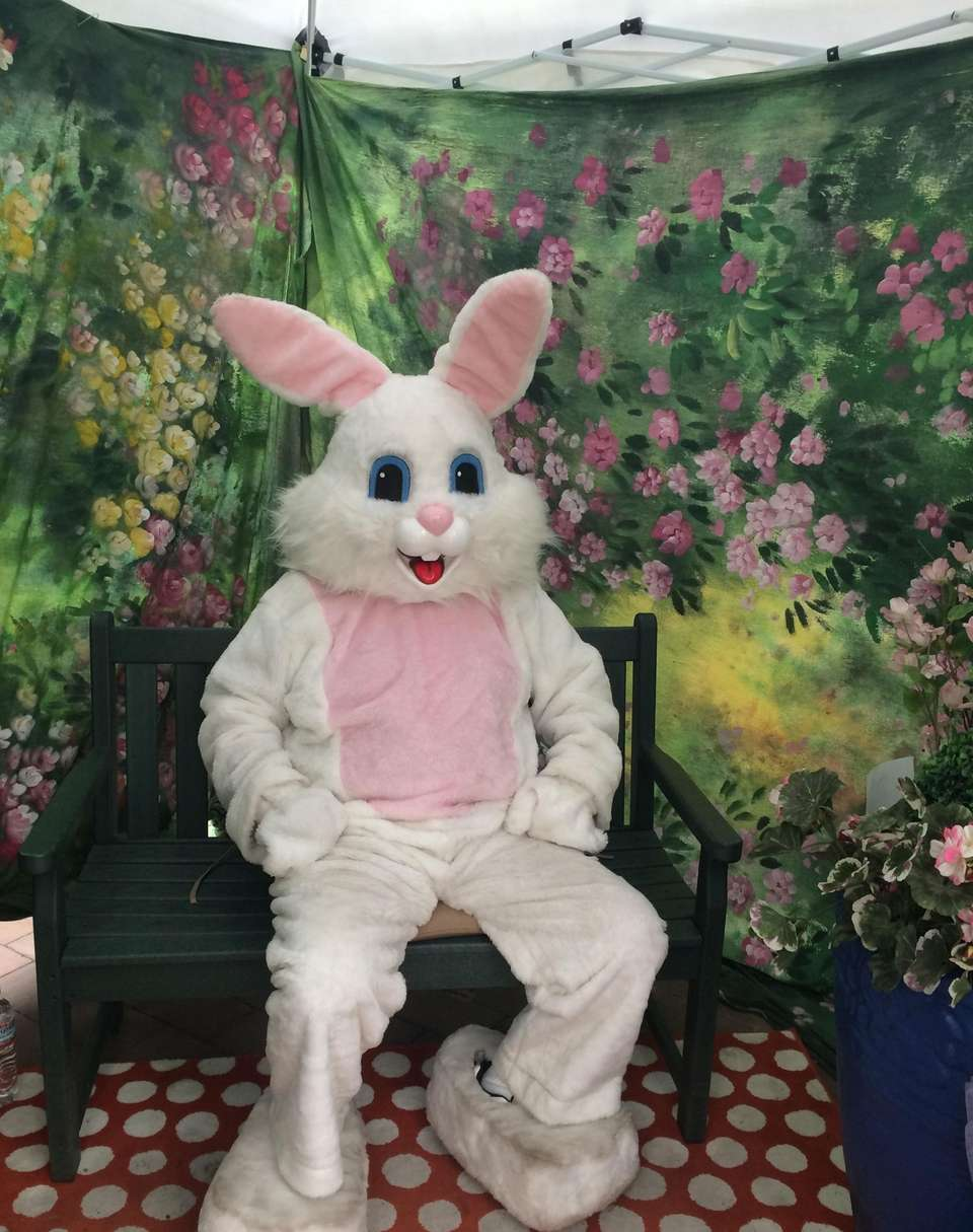 The Easter Bunny will be available for pictures