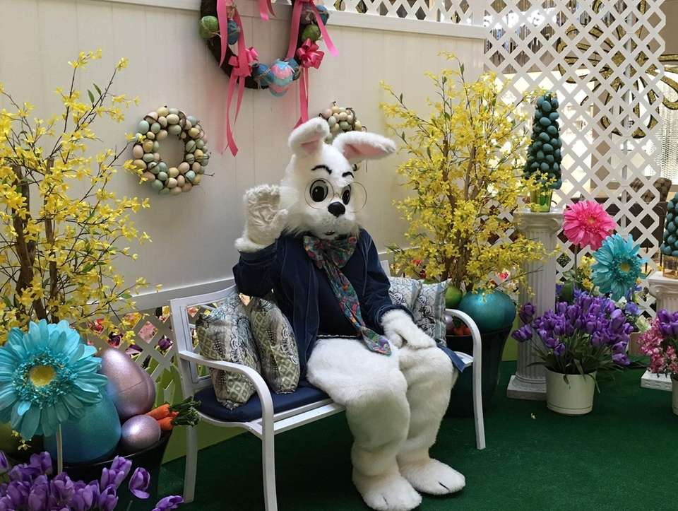 Hang with the Easter Bunny at the Smith