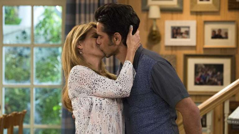 Aunt Becky (LI's Lori Loughlin) and Uncle Jesse