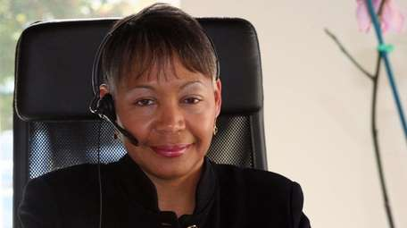 Lisa Borders, shown here in 2009, will