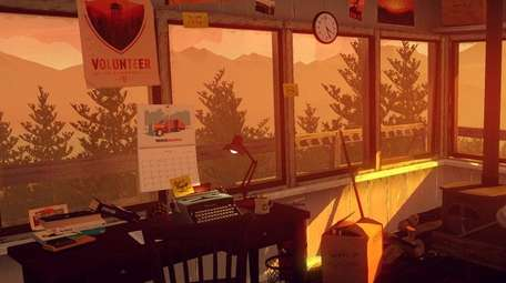 Firewatch sets up the player as an outlook