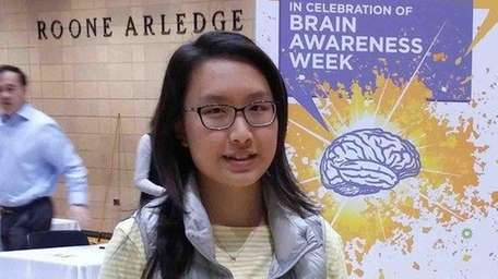 Melissa Cao, a senior at Bethpage High School,