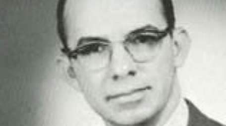 English teacher William Cates in the 1962 Farmingdale