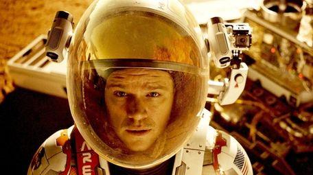 Astronaut Mark Watney (Matt Damon) finds himself stranded