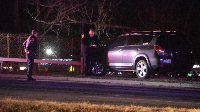 A man was killed in Bay Shore after