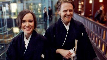 Ellen Page and Ian Daniel explore LGBT life
