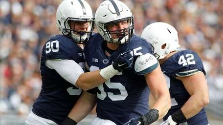 Carl Nassib of the Penn State Nittany Lions