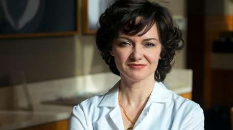 Dermatologist Dr. Valerie Goldburt, shown here at her