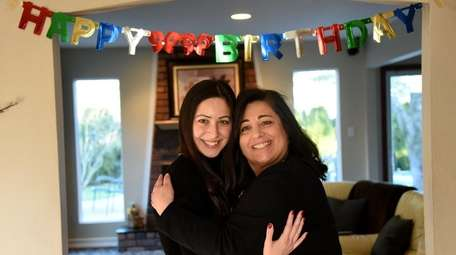 Samantha Speranza, 27, with her mother, Angela Speranza,