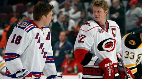 Marc Staal of the New York Rangers