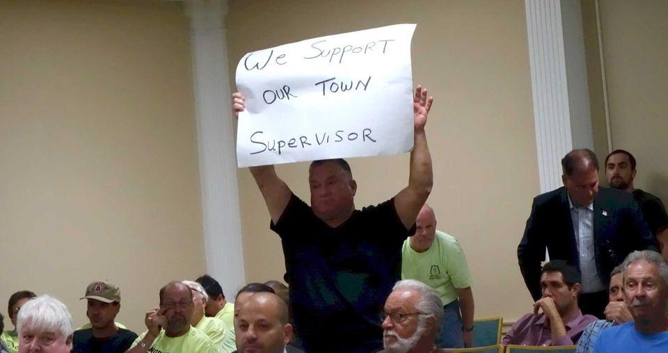 Supervisor John Venditto narrowly won re-election in November