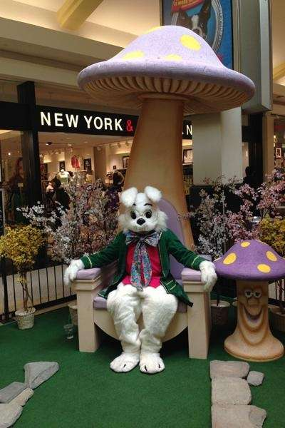 The Easter Bunny will be visiting Green Acres