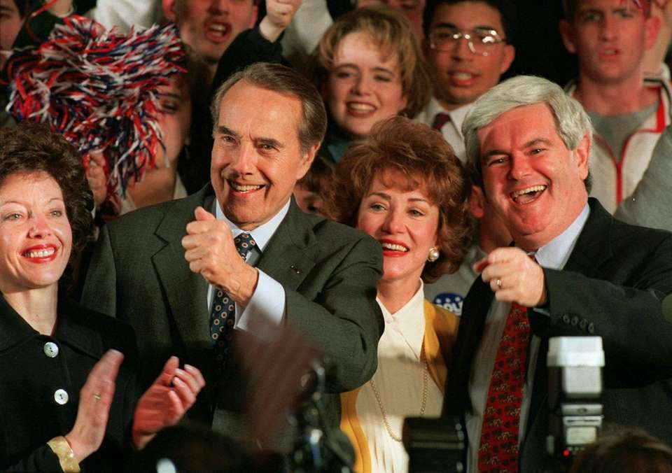 In 1996, there were two Super Tuesday sweeps,