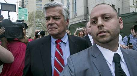Former Senate Majority Leader Dean Skelos, who was