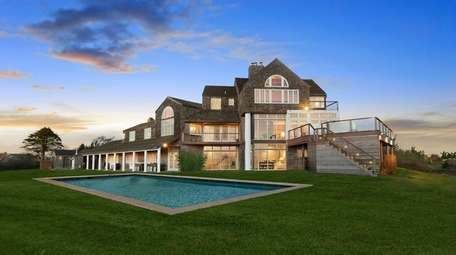 This Sagaponack mansion, available for sale and as
