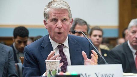 New York District Attorney Cyrus Vance Jr. testifies