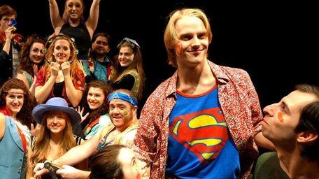 Hans Paul Hendrickson stars as a Superman T-shirt-clad