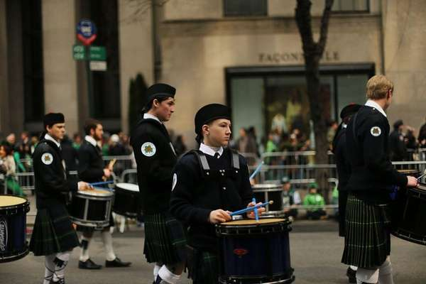 Mayor de Blasio will march in St. Patrick's Day parade