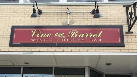 Vine & Barrel is a new wine and