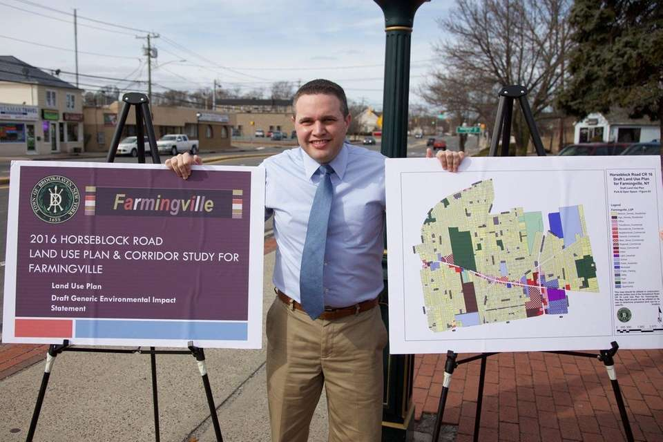 Brookhaven Town Councilman Kevin LaValle is spearheading an