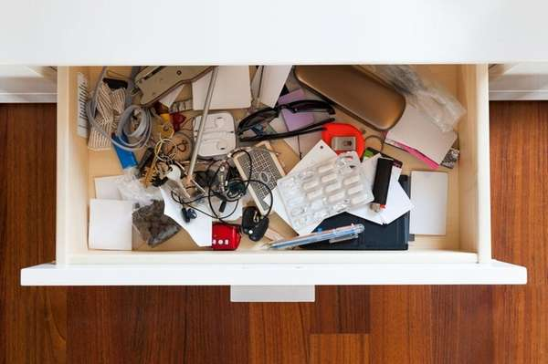 The first step to taming your junk drawer