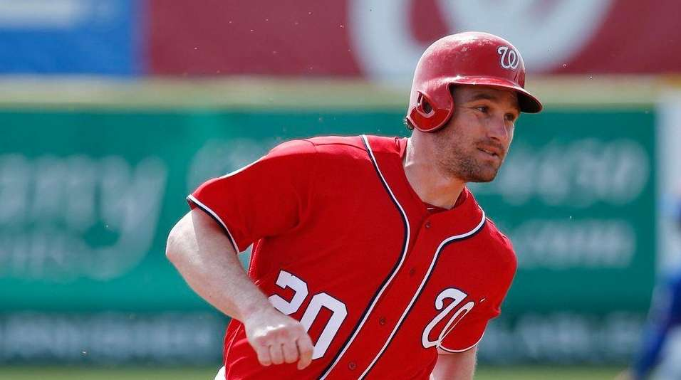 Daniel Murphy #20 of the Washington Nationals