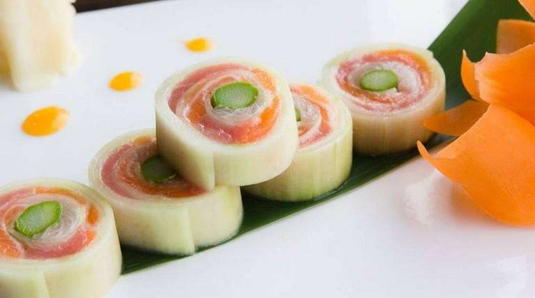 The naruto roll at Fhoo Sushi in Rockville