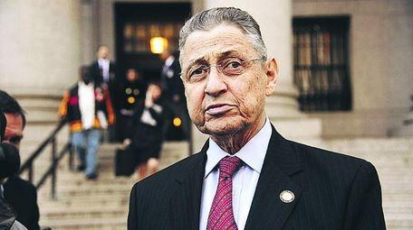 Former New York State Assembly Speaker Sheldon