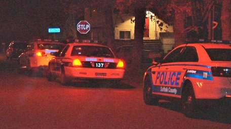 Police responded to a reported home invasion in