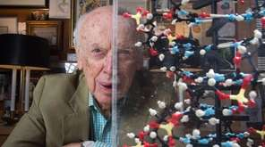 James Watson, co-discoverer of the structure of DNA,