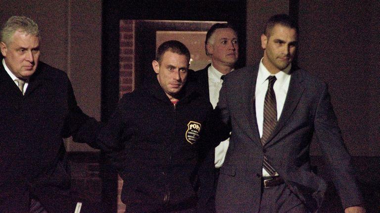 Joseph Jones, 33, of Centereach was arrested Friday,