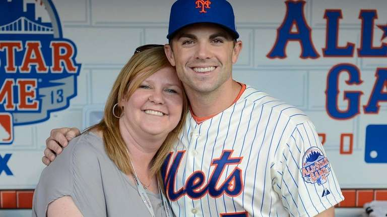 Mets publicist Shannon Forde with star player