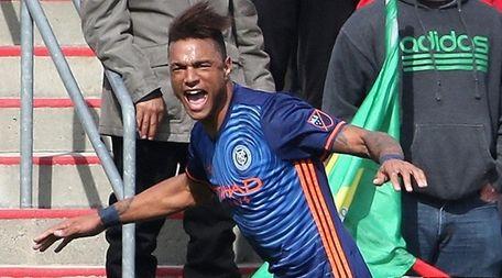 Khiry Shelton of New York City FC