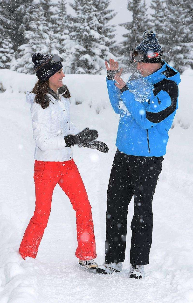Britain's Prince William and Kate Duchess of Cambridge