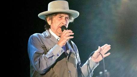 Bob Dylan played the Americanarama festival in 2013.