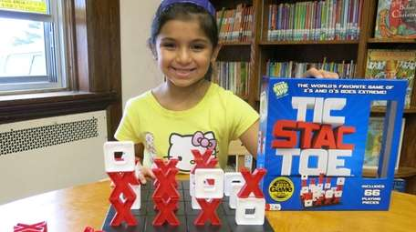 Kidsday reporter Blanca Gonzalez-Norio tested the game Tic