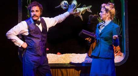 Roger Bart and Kerry Butler in