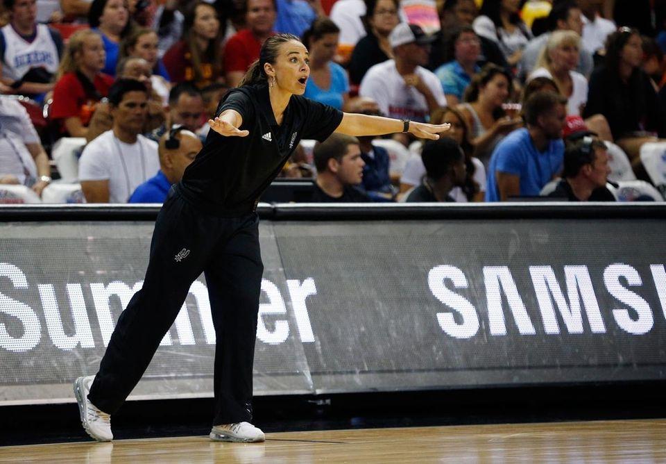 Hammon, who played 16 seasons in the WNBA,