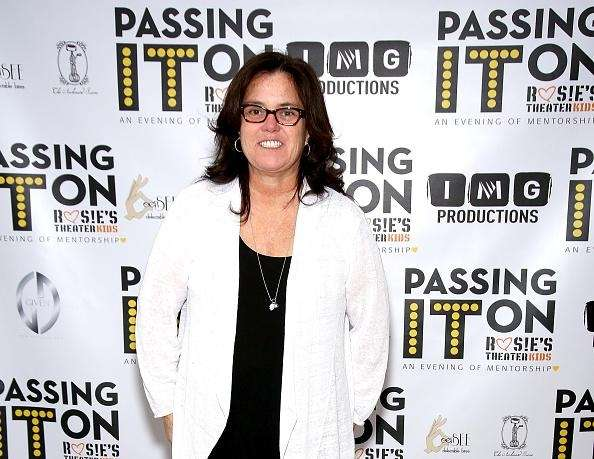 Actress and comedian Rosie O'Donnell and Trump have