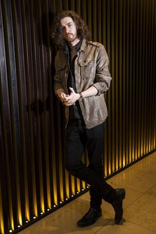 Musician Hozier, born March 17, 1990.