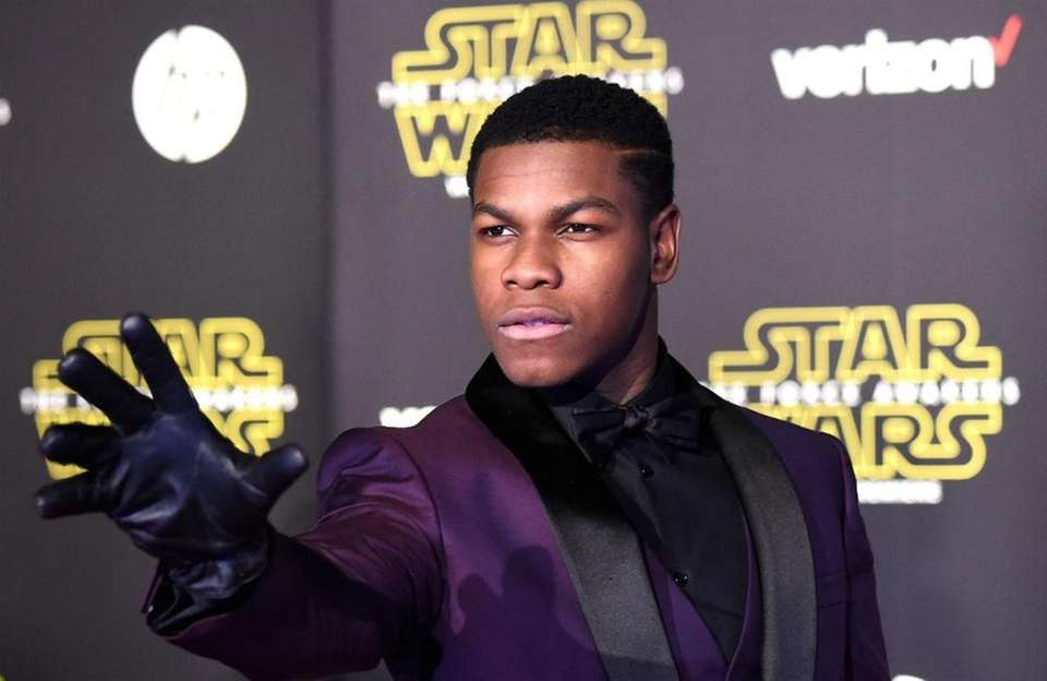 Actor John Boyega, born March 17, 1992.