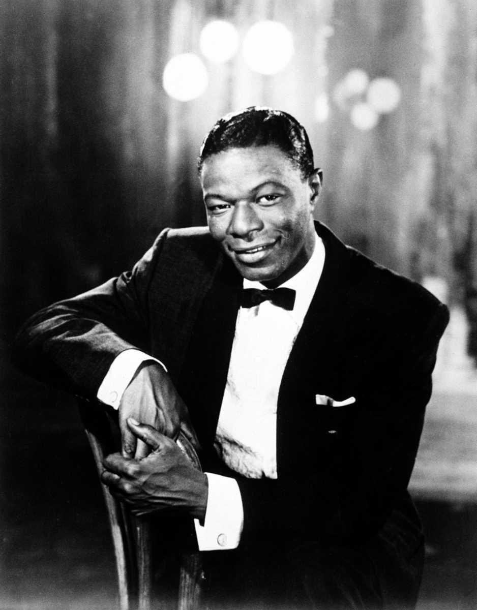 Jazz singer Nat King Cole, born March 17,