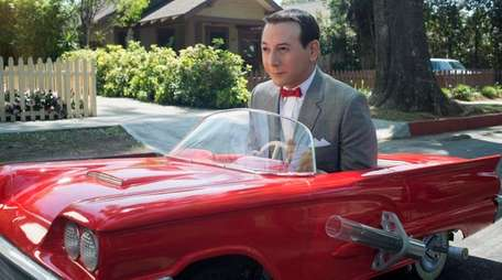 Paul Reubens is back in the driver's seat