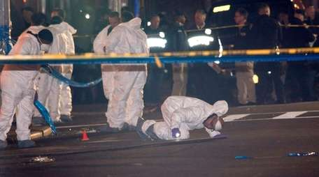 An NYPD detective was accidentally shot by his