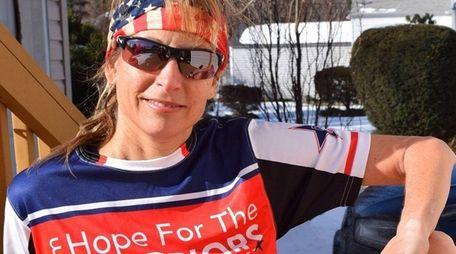 Eva Casale, of Glen Cove, will run seven