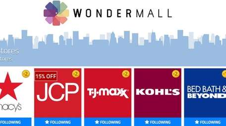 Wondermall is an iPad app that offers access