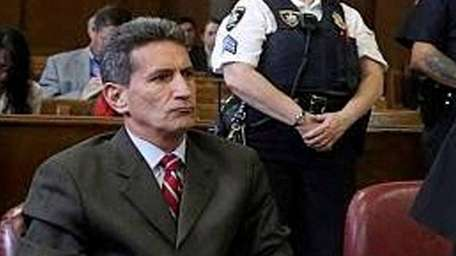 Defense lawyer Alan Vinegrad, left, is seen in