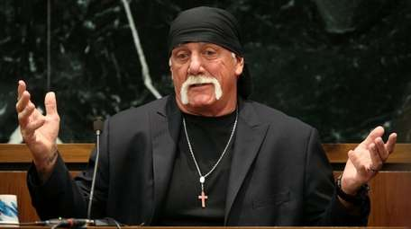 Terry Bollea, aka Hulk Hogan, testifies in court