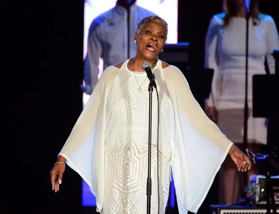 Dionne Warwick grew up in East Orange, New